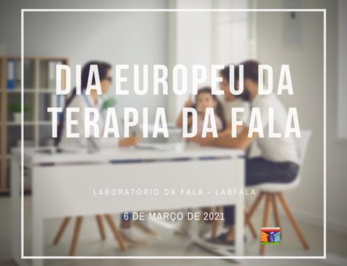Dia Europeu da Terapia da Fala